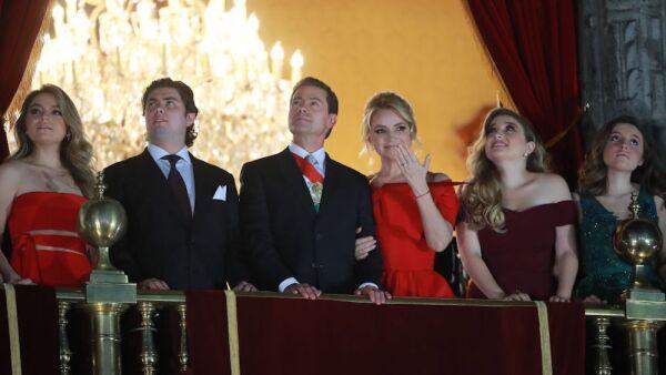 La familia Peña Nieto. (Getty Images)