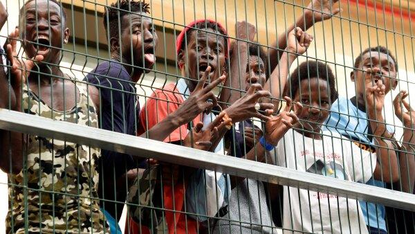 Migración africana.