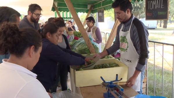 En este mercado mexicano se intercambia basura por alimentos