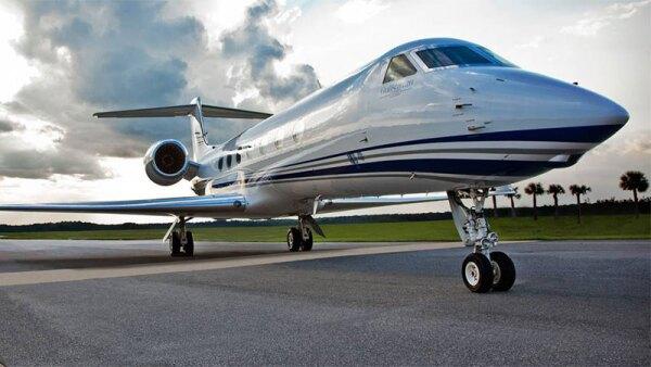 Jet G550 de Gulfstream