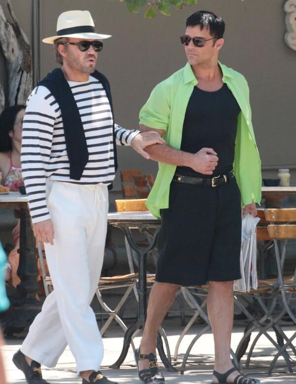 Édgar Ramírez y Ricky Martin