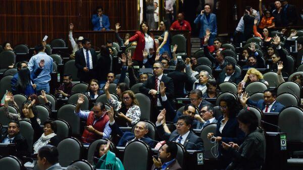 Reelección legisladores