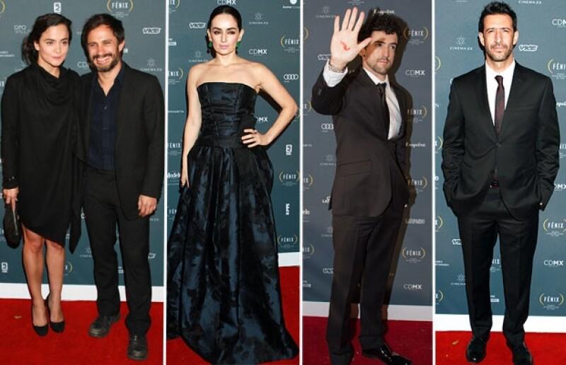 CENTRO La noche del jueves se celebró la 1ra edición del premio iberamericano de cine, en la que famosos como Gael García demostraron solidaridad con el caso de los estudiantes de Guerrero.
