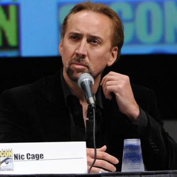 Nic Cage en el Comic-Con