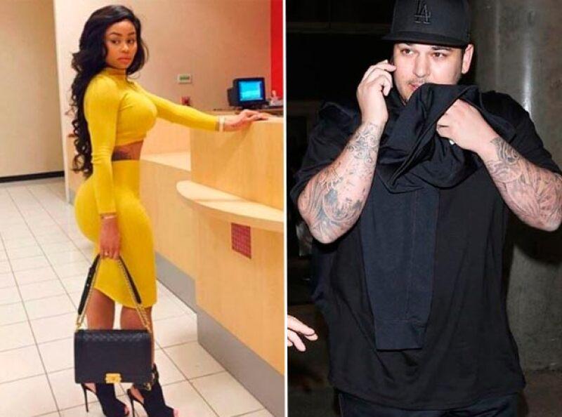 La relación de Rob y Blac Chyna, se dice, ha disgustado a la familia Kardashian.