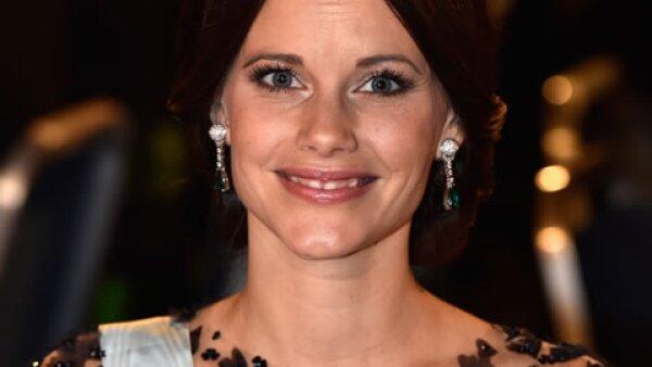 Sofía, además de su mom to be glow, se estrenó como princesa luciendo la misma tiara de diamantes y esmeraldas con la que se casó este verano.