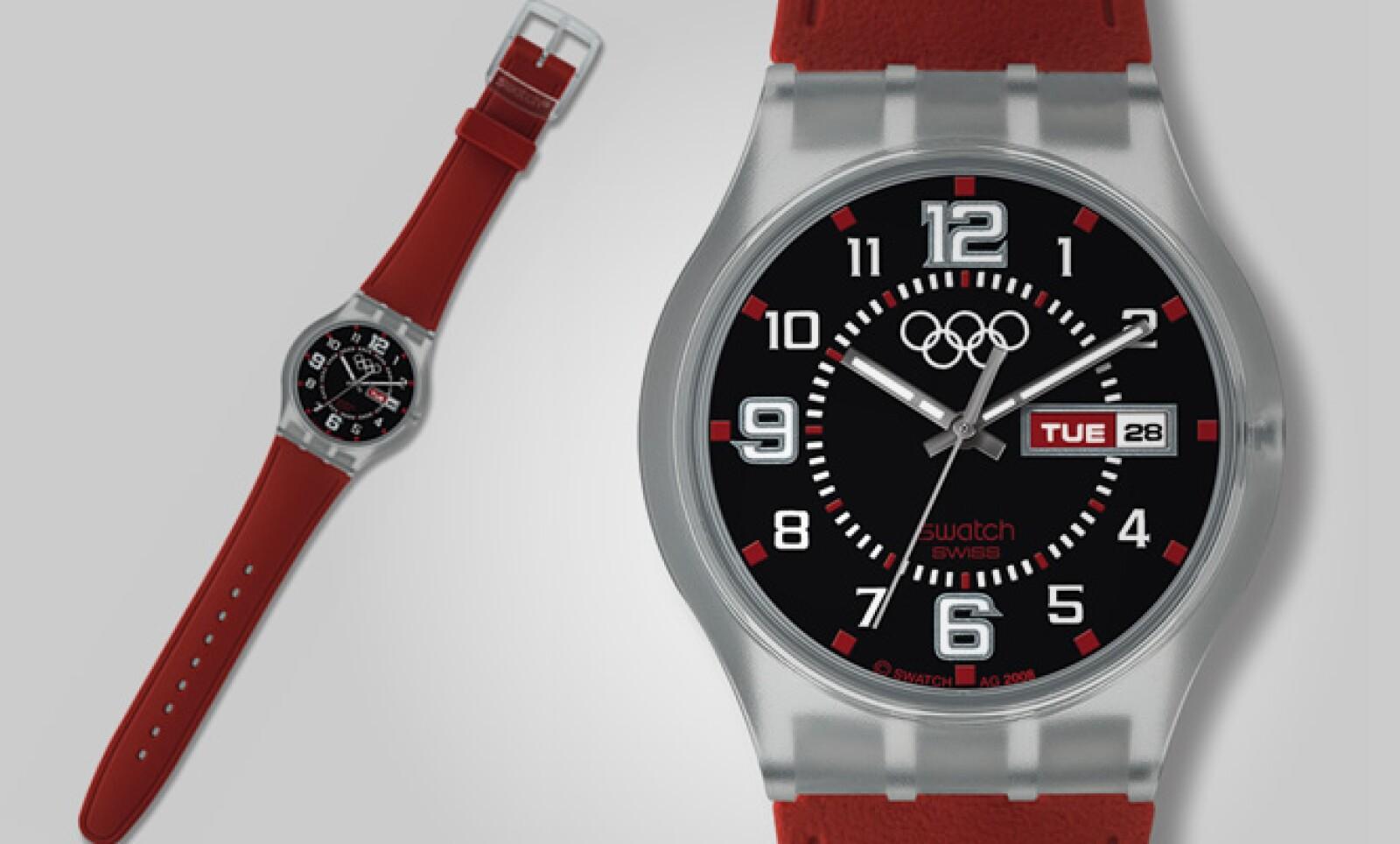 Este modelo es uno de los más reconocidos en la historia de Swatch por su combinación de colores.