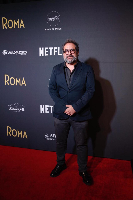 Eugenio Caballero, director de arte de Roma.