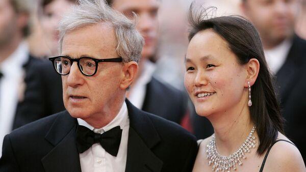Woody Allen y Soon-Yi Levin