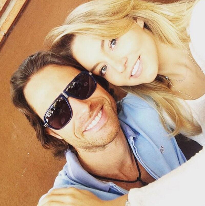 """Patrick Boyer elogió la pareja que hacen los actores y exaltó que el argentino es un """"hombre entero y apasionado""""."""
