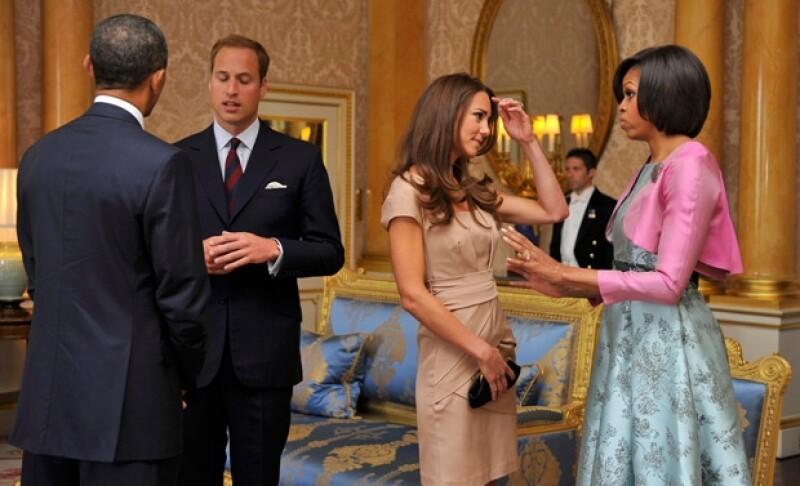 Fue en 2011 cuando las parejas se conocieron y todo parece indicar que tuvieron un grato encuentro ya que los monarcas decidieron mandarle una felicitación al presidente de Estados Unidos.