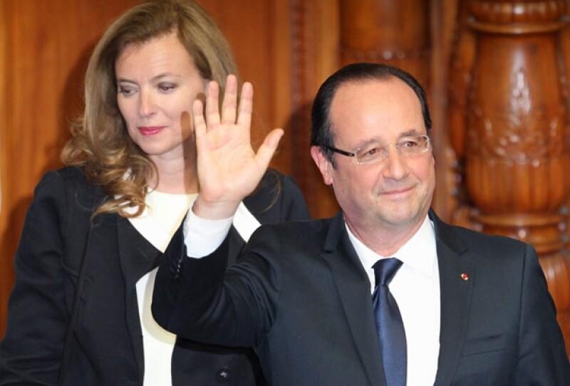 A través de un escueto comunicado el presidente francés informó que se separó de Valérie Trierweiler.