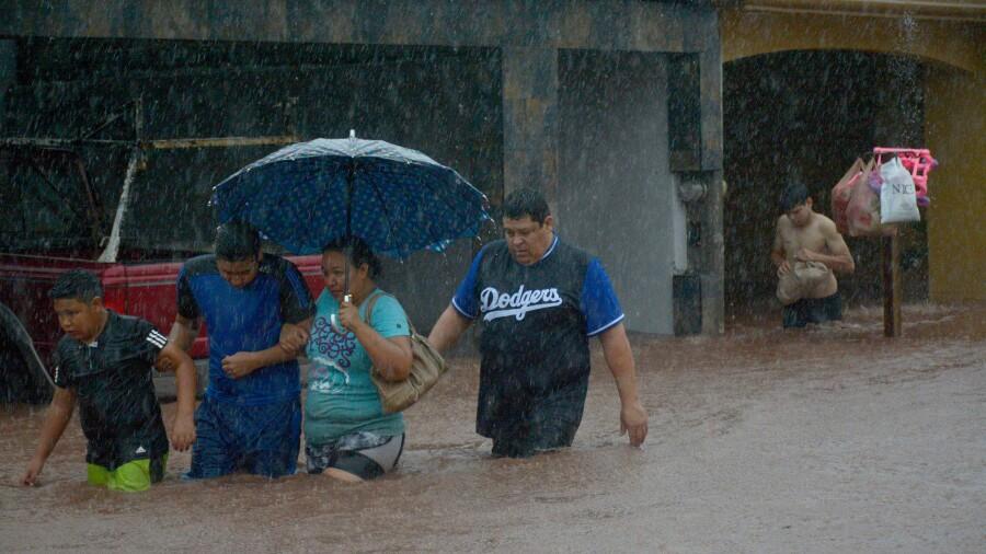 Sinaloa lluvias depresión tropical 19-E