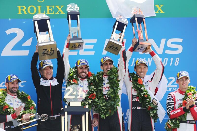 Podium 24h Le Mans