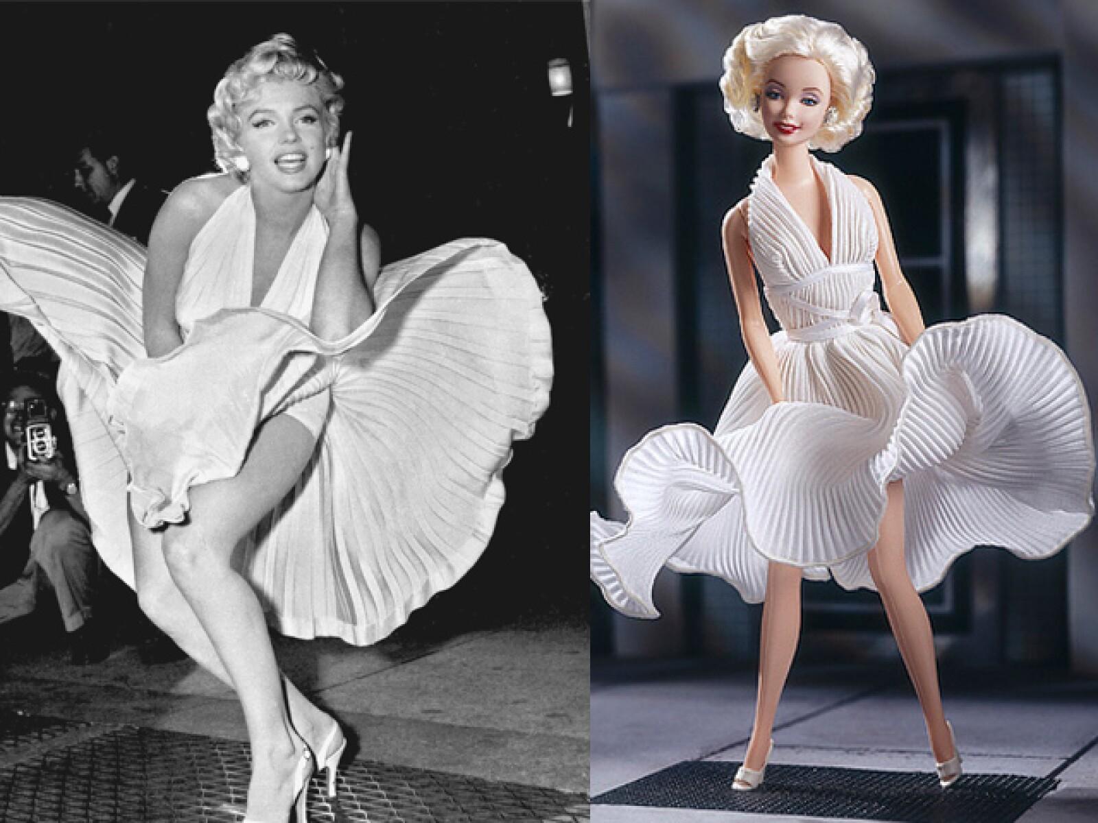Marilyn siempre será recordada por ese instante que ha sido capturado reproducida en una muñeca.