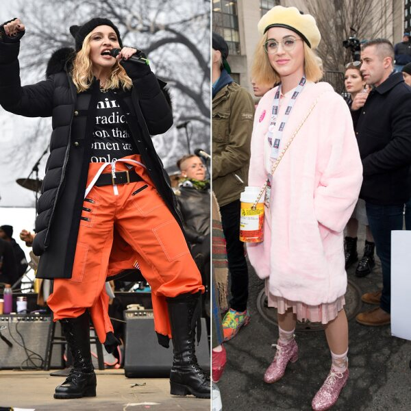 Madonna y Katy Perry