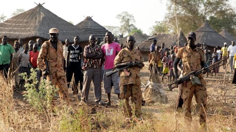 sudan del sur guerrilla