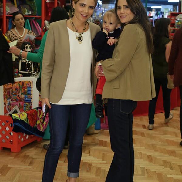 Ivette Murat y Raquel Juan Marcos