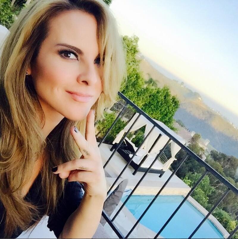 Kate adquirió esta mansión, ubicada en el fraccionamiento Mountain Gate Country Club, a 20 minutos de Bel Air y media hora de Beverly Hills, en 2010.