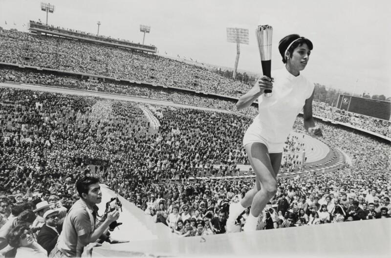 Enriqueta Basilio, Juegos Olímpicos 1968