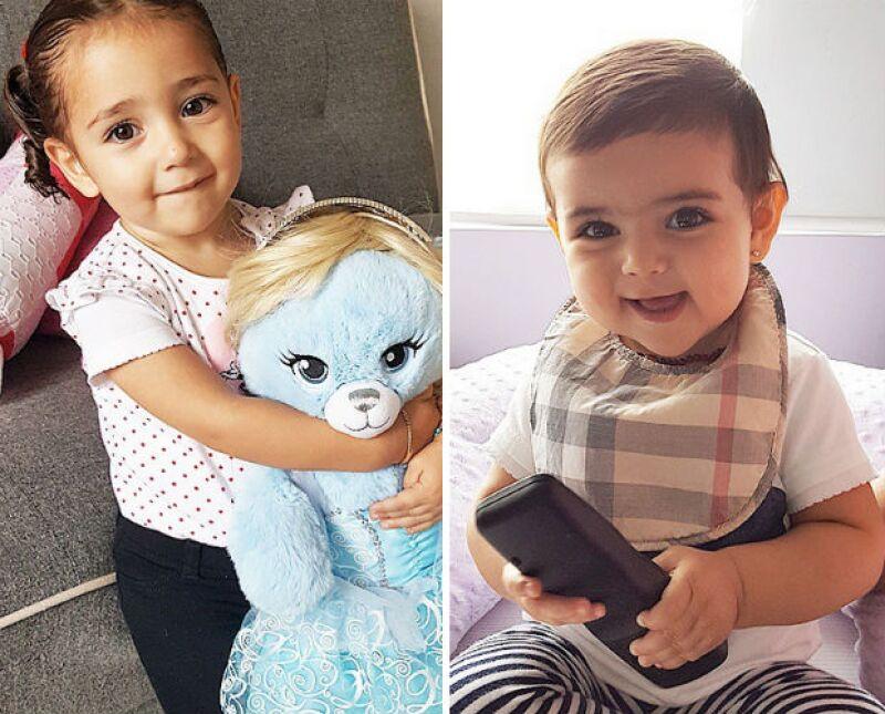 Jacky y Carolina, las princesas de papá, en unas fotos dignas de Instagram.