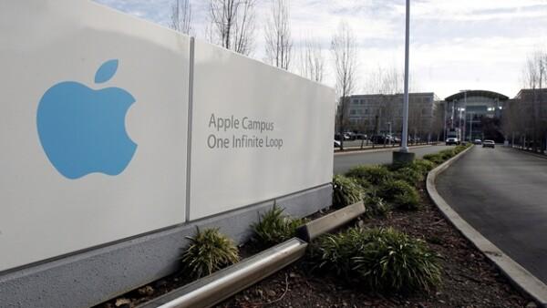 El complejo de oficinas de Apple se ubica en Cupertino, California.