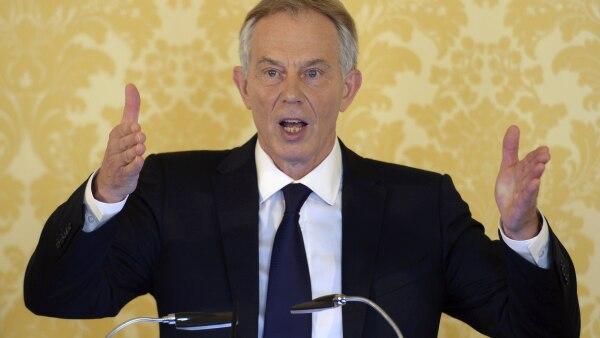 El exprimer ministro británico ofreció una conferencia de prensa tras la presentación del informe en el que asumió su responsabilidad sobre el conflicto con Irak.