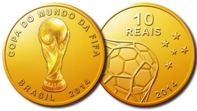 monedas conmemorativas mundial 2014