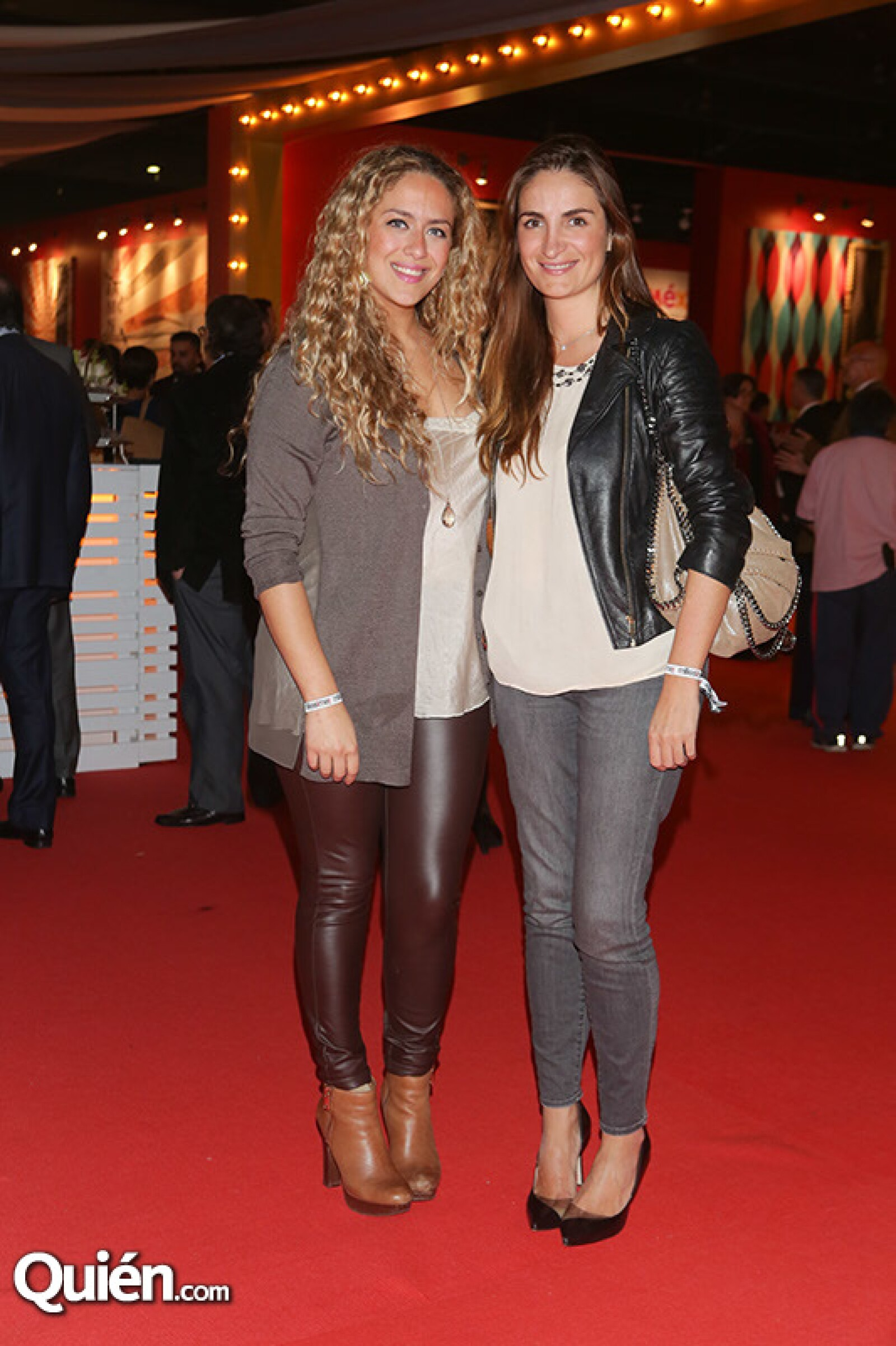 Linda Cherem y Karla Cortina