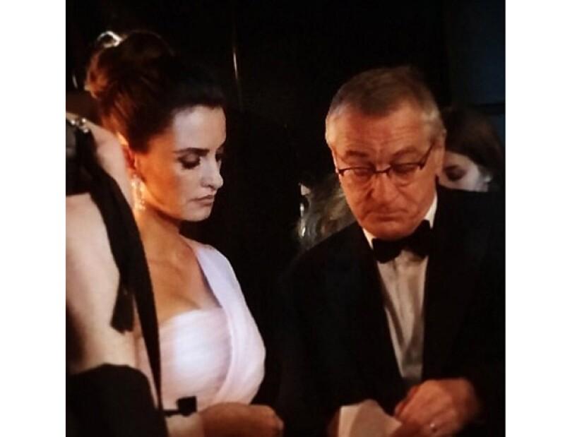 La cuenta de Instagram de la organización de los Oscar se refiere a la española como Salma Hayek en el pie de una de sus fotos.