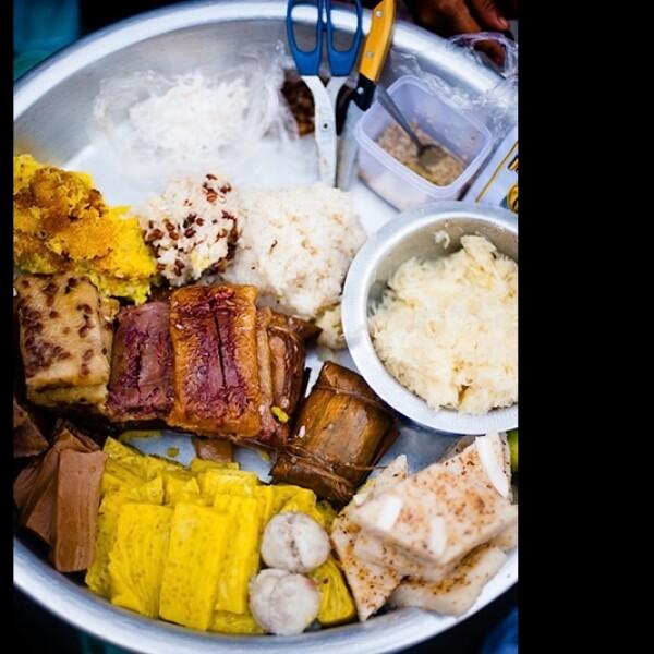 Bocadillos birmanos dulces