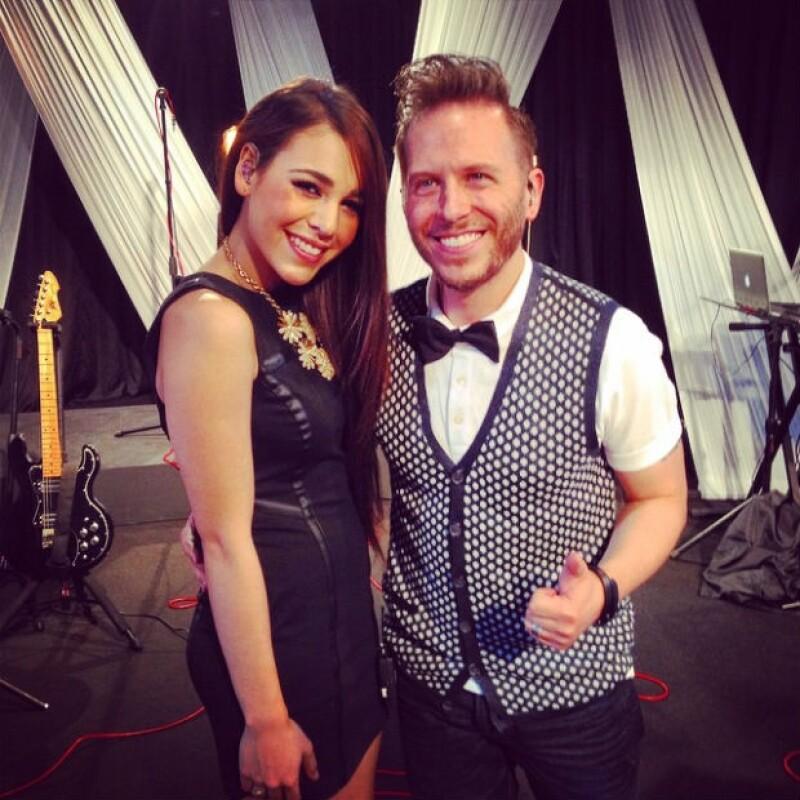 """Danna Paola y Noel Schajris han encantado con su dueto titulado """"No es cierto""""."""