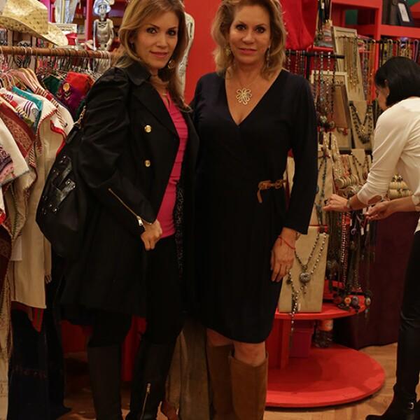 María Teresa Galván y Vanessa Fanghanel