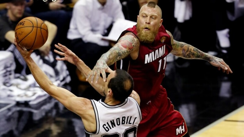 NBA Heat Miami, Spurs, San Antonio 1er juego