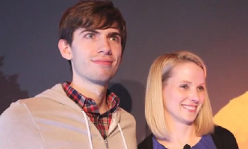 La audiencia de Tumblr ha crecido 40% desde la venta a Yahoo, señaló la CEO Marissa Mayer. (Foto: Tomada de CNNMoney )