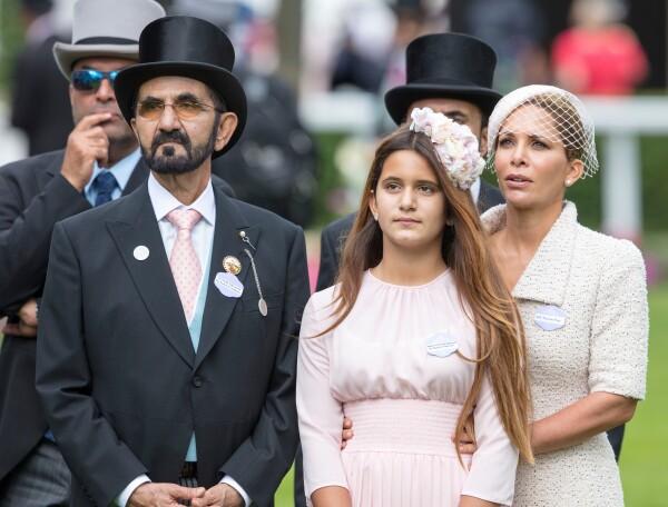 Mohammed bin Rashid, princesa Haya y Jalila