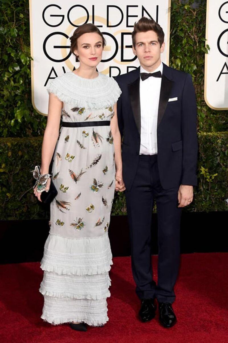 Aunque Keira no ganó ningún premio en los Golden Globes, nuevamente fue nominada para los Oscar.