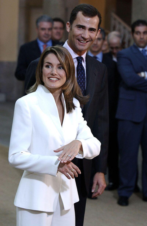 Rey Felipe VI de España y la reina Letizia