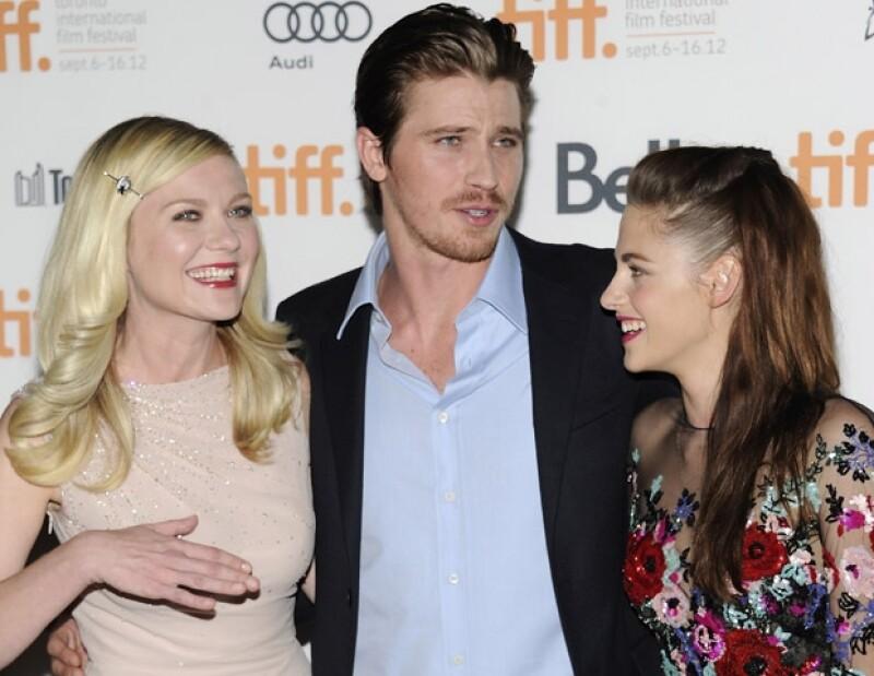 Kristen Dunst, Garrett Hedlund y Kristen bromearon entre ellos.