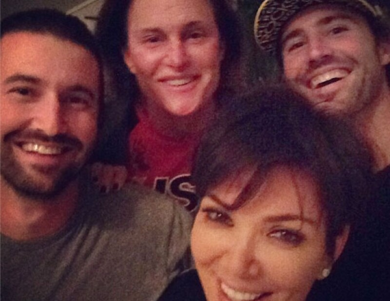 Con esta imagen, Kris Jenner busca callar los rumores de una mala relación con Brody y Brandon.