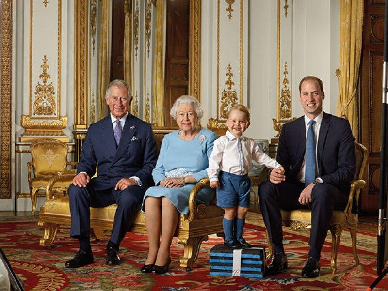 Baby George es uno de los niños con más influencia en el mundo de la moda.