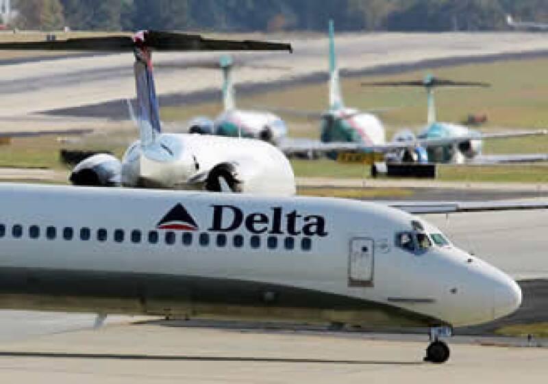 Las ventas netas de Delta subieron un 13% a 7,750 millones de dólares. (Foto: AP)