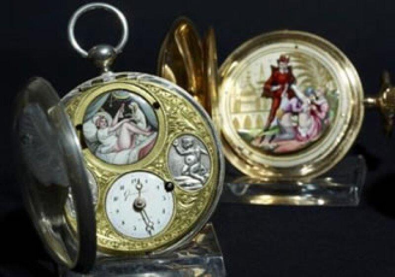 La fabricación de relojes con motivos explícitos comenzó en el siglo XVII (Foto: Reuters)