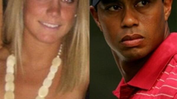 El jugador de golf se dio un respiro en su larga lista de mujeres, por lo que ahora está saliendo con una joven de 22 años de edad.
