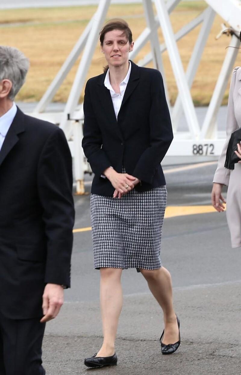 Ella es María Teresa Turrión Borrallo, la niñera del príncipe George.