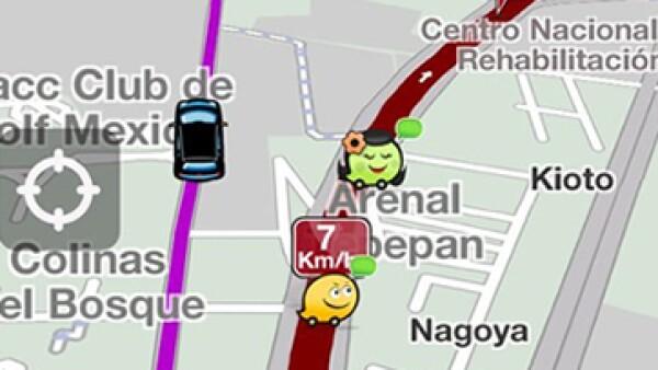 Google Maps contiene algunas características de la aplicación Waze. (Foto: Facebook/WazeEs)