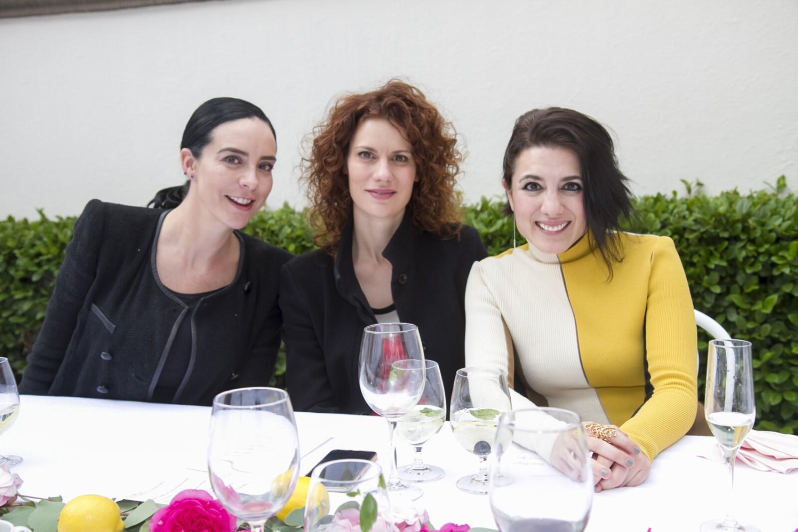 Ariadne Grant, Lidia San José y María Garcia de Alba .jpg