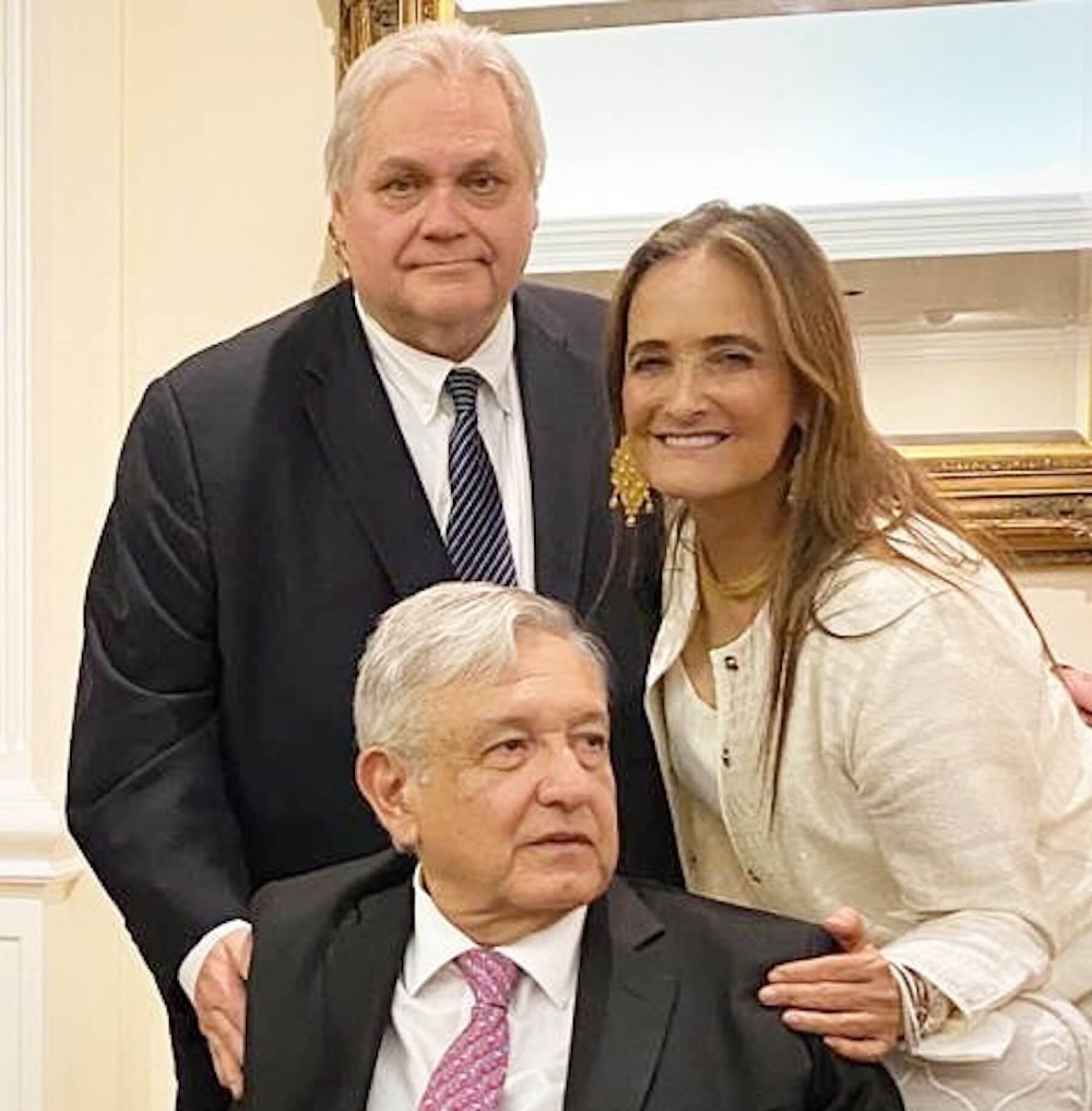 Empresaria Patricia Armendáriz 'reporteó' la cena en la Casa Blanca