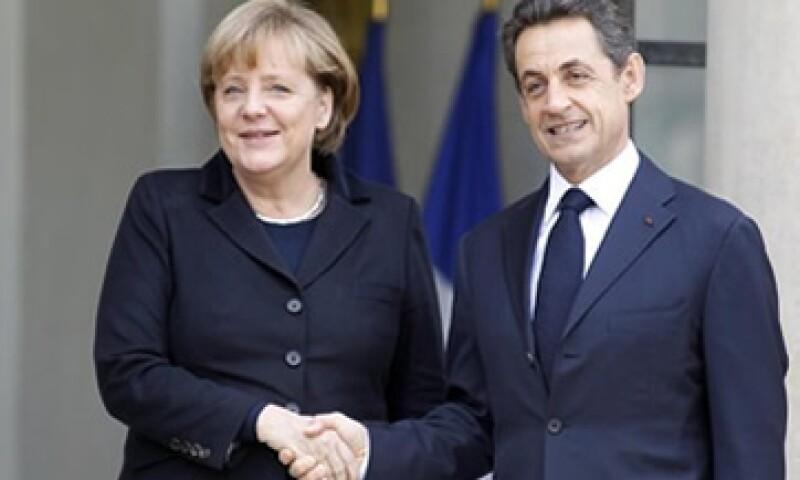 Nicolas Sarkozy dijo que el acuerdo con Angela Merkel era total. (Foto: Reuters)