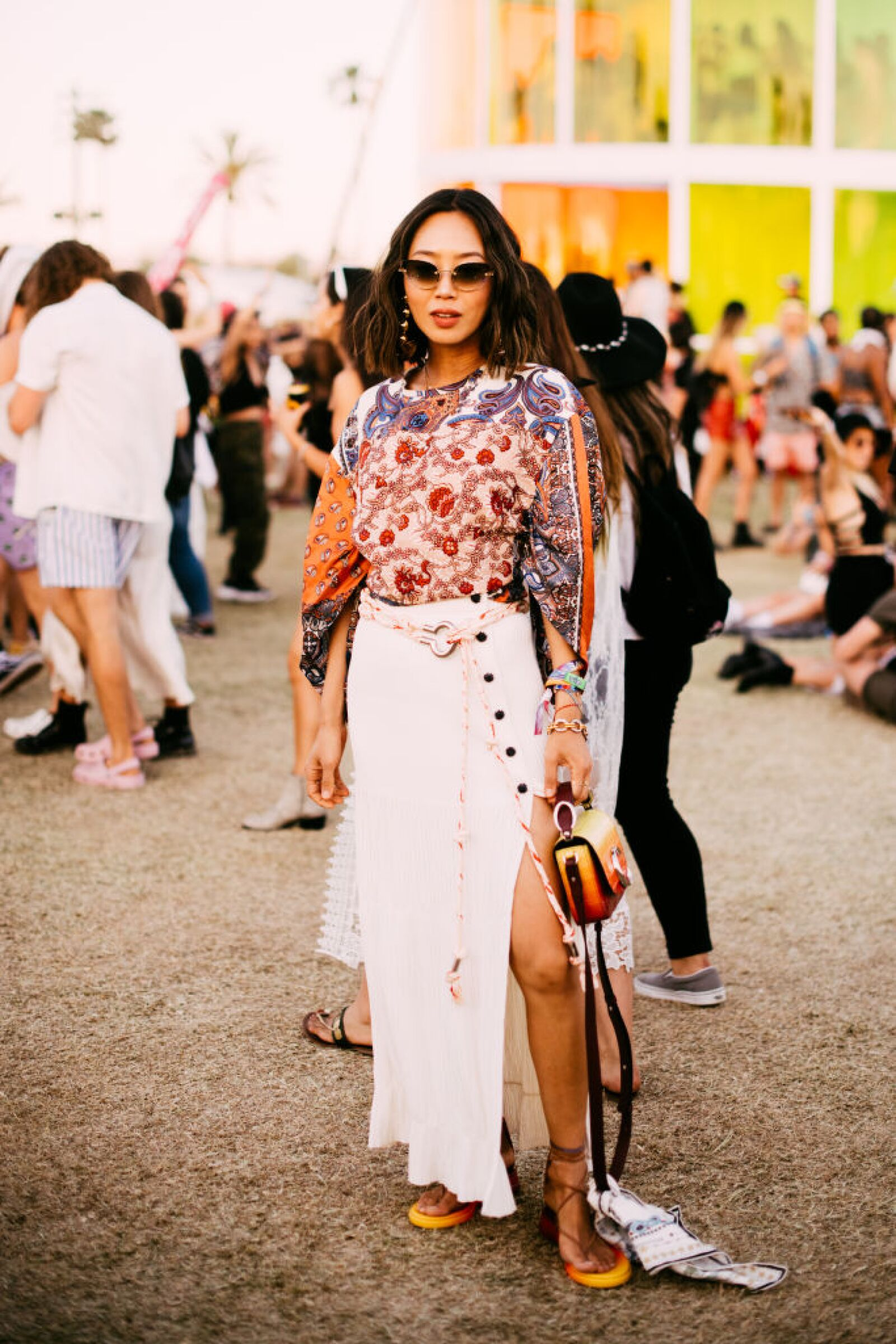 Street Style At The 2019 Coachella Valley Music And Arts Festival - Weekend 1